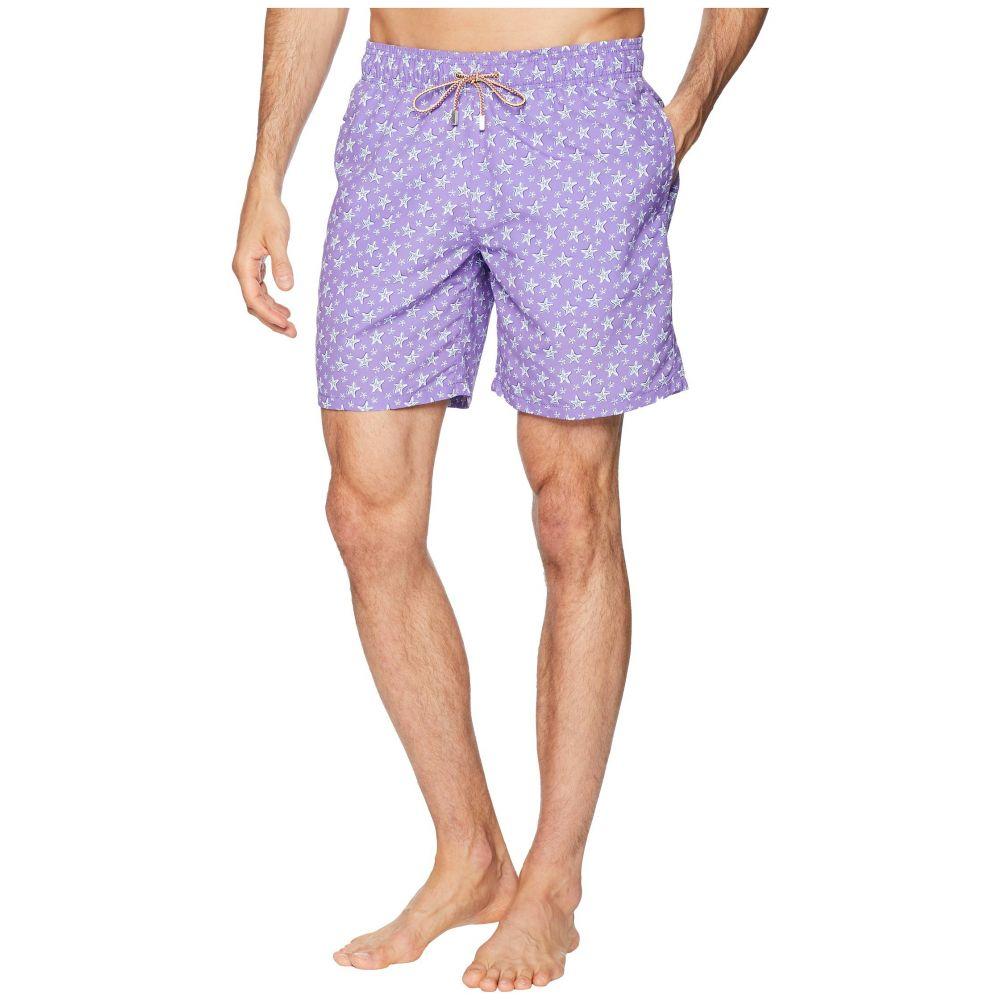 ブガッチ BUGATCHI メンズ 水着・ビーチウェア 海パン【Starfish Toss Swim Trunk】Lilac