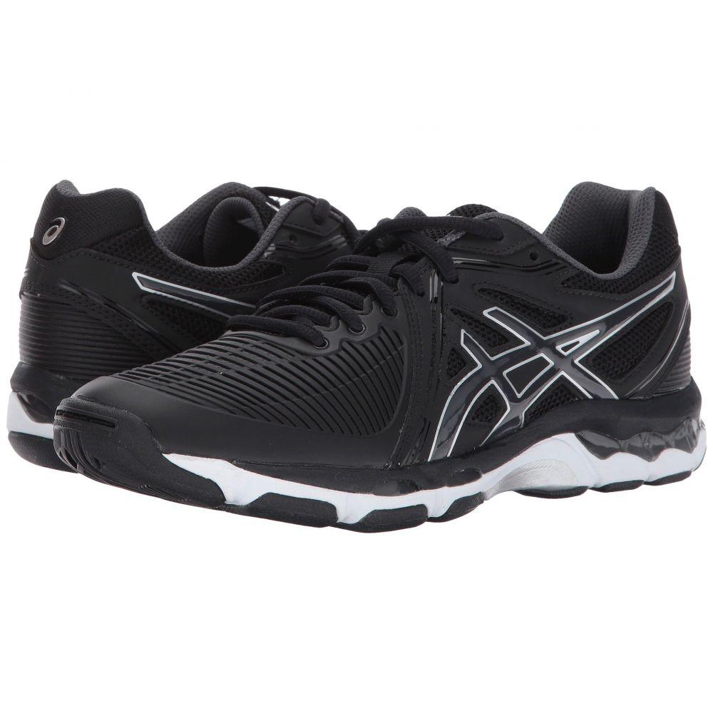 アシックス ASICS レディース バレーボール シューズ・靴【GEL-Netburner Ballistic】Black/Dark Grey/Silver