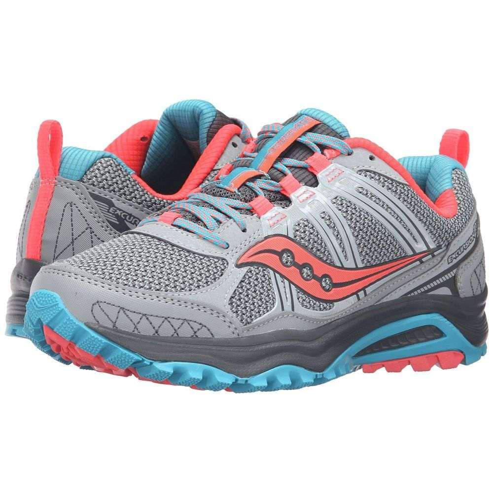 サッカニー Saucony レディース ランニング・ウォーキング シューズ・靴【Excursion TR10】Grey/Blue/Coral