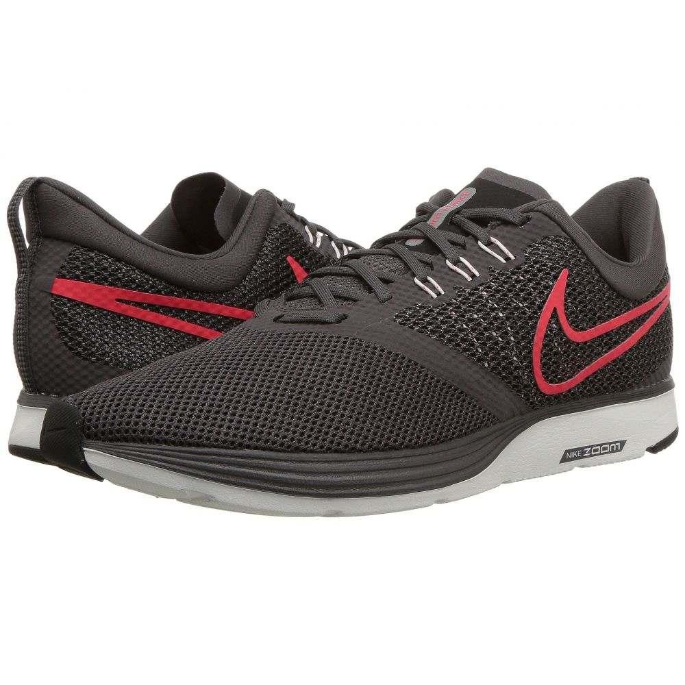 ナイキ Nike メンズ ランニング・ウォーキング シューズ・靴【Zoom Strike】Thunder Grey/Bright Crimson/Black