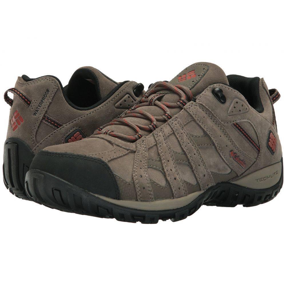 コロンビア Columbia メンズ ハイキング・登山 シューズ・靴【Redmond Leather Omni-Tech】Mud/Sanguine