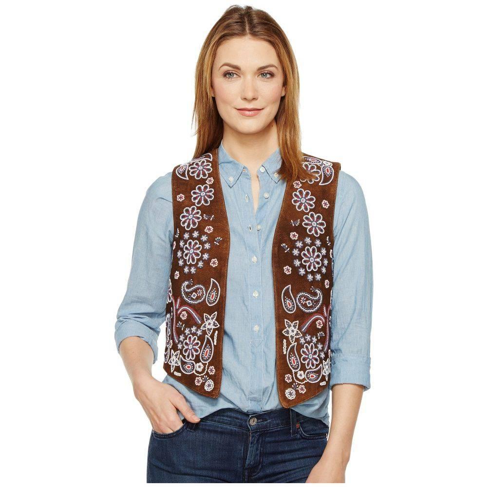 ターシャポリッツィ Tasha Polizzi レディース トップス ベスト・ジレ【Country Girl Vest】Brown