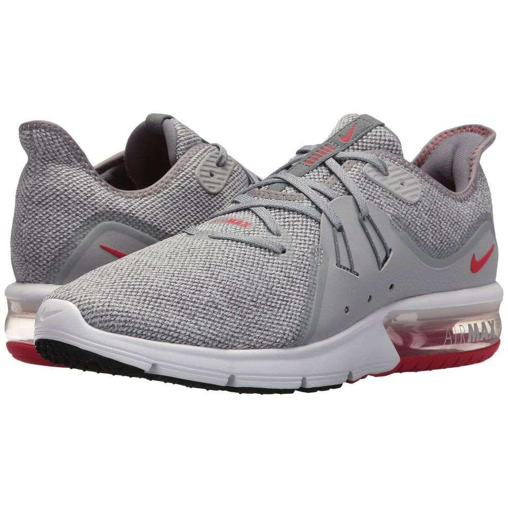 ナイキ Nike メンズ ランニング・ウォーキング シューズ・靴【Air Max Sequent 3】Cool Grey/University Red/Wolf Grey