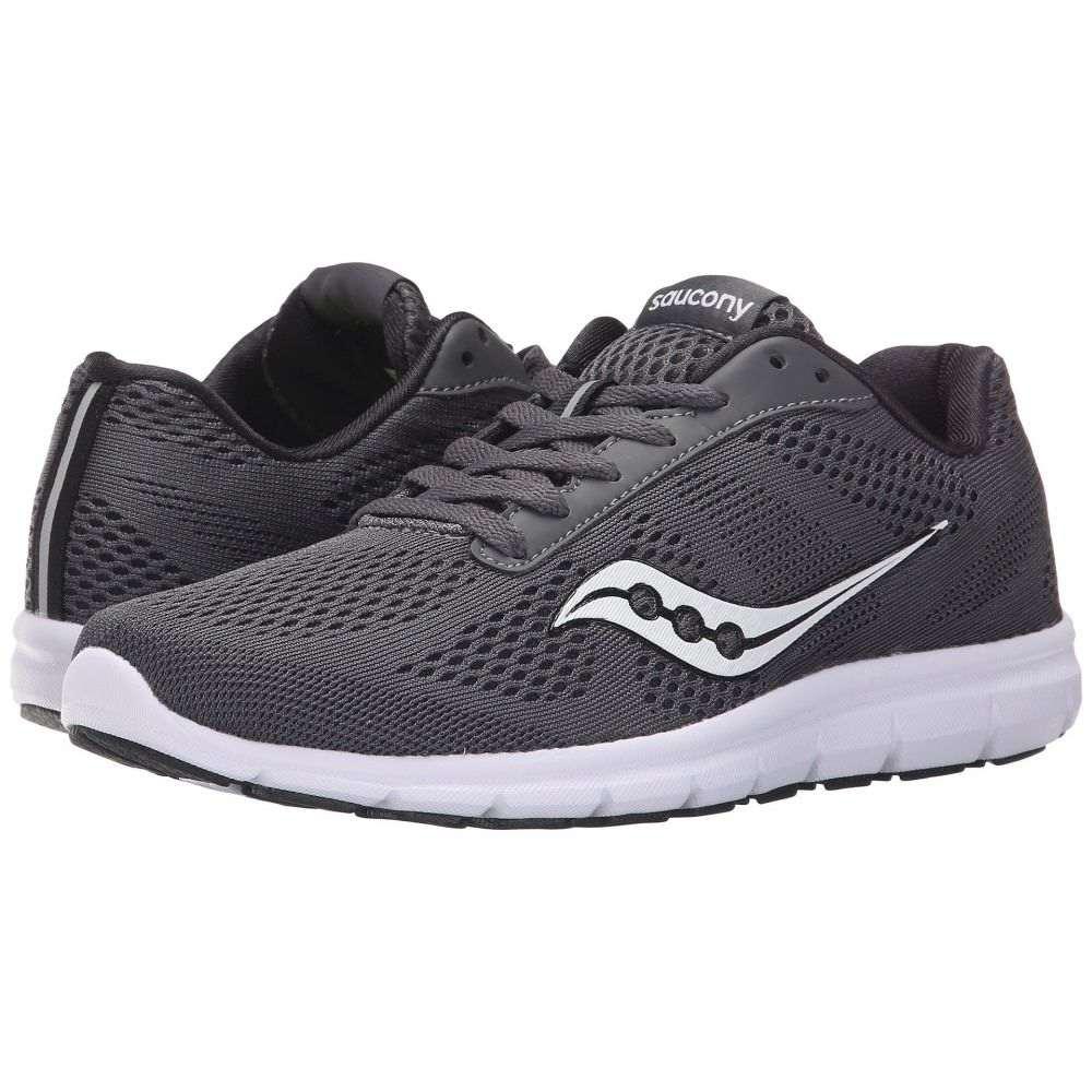 サッカニー Saucony レディース ランニング・ウォーキング シューズ・靴【Ideal】Grey/White