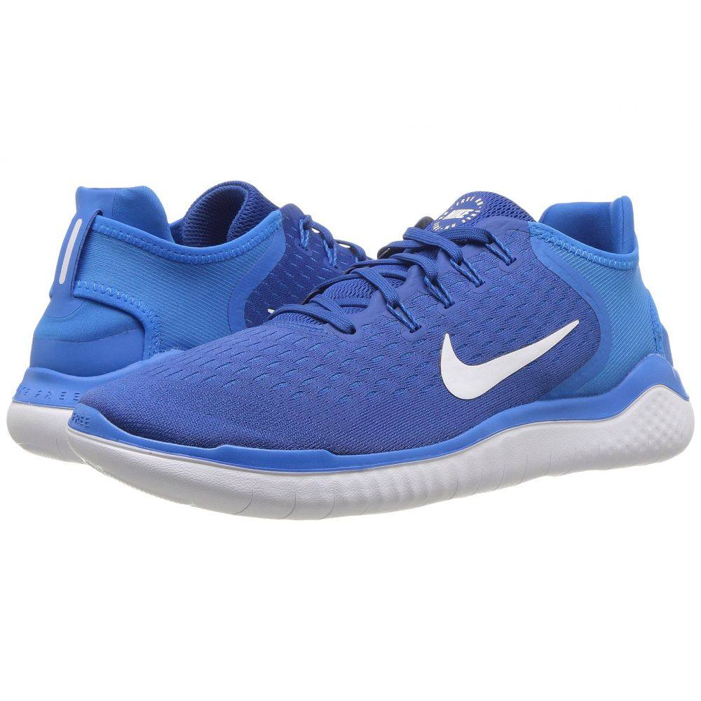 ナイキ Nike メンズ ランニング・ウォーキング シューズ・靴【Free RN 2018】Team Royal/White/Photo Blue