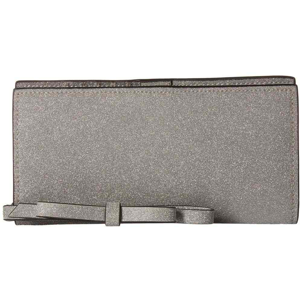 ザック ポーゼン ZAC Zac Posen レディース 財布【Earthette Slim Wristlet Wallet】Silver