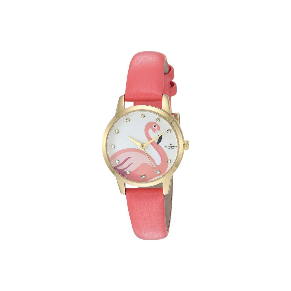 ケイト スペード Kate Spade New York レディース 腕時計【Metro - KSW1440】Pink