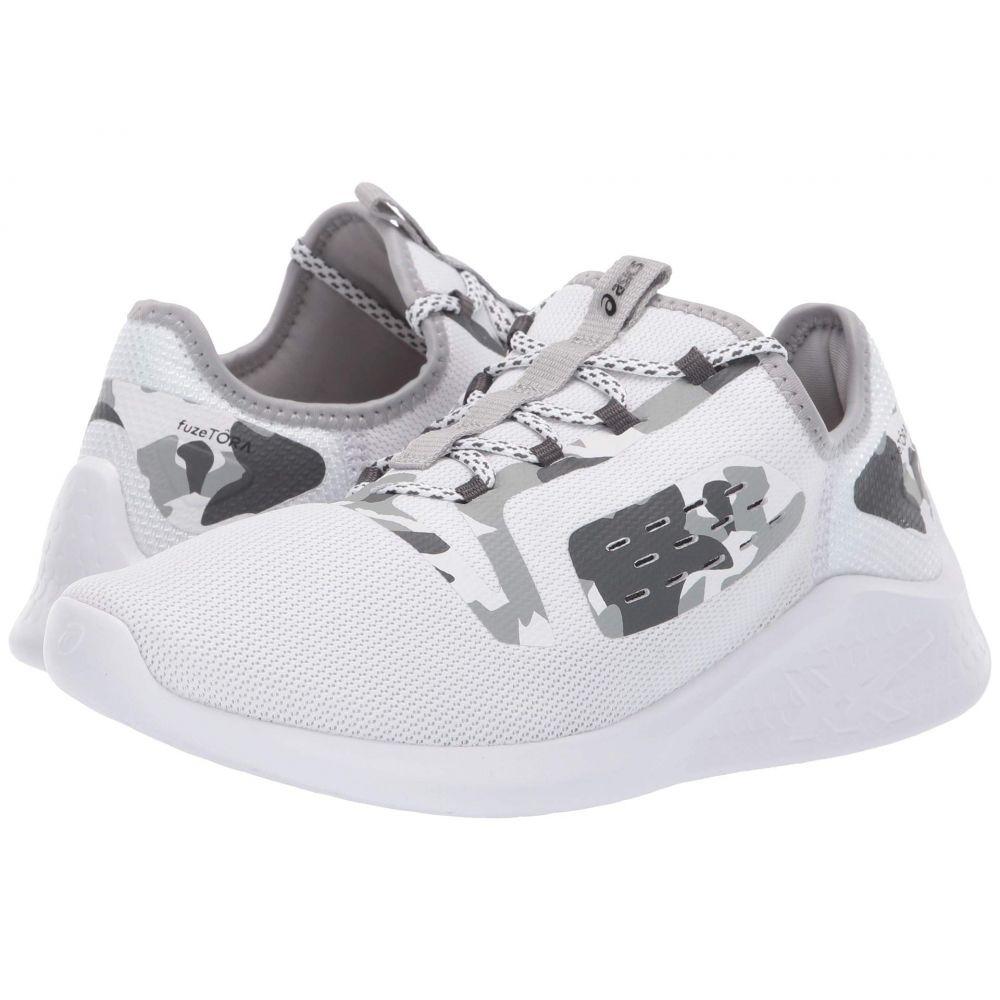 アシックス ASICS レディース ランニング・ウォーキング シューズ・靴【fuzeTORA】White/Mid Grey/Black