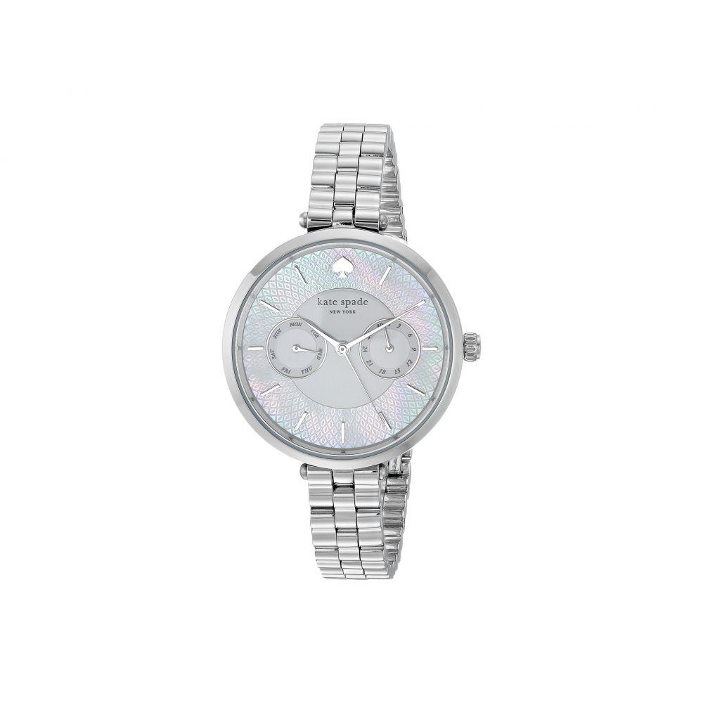 ケイト スペード Kate Spade New York レディース 腕時計【Holland - KSW1398】Silver
