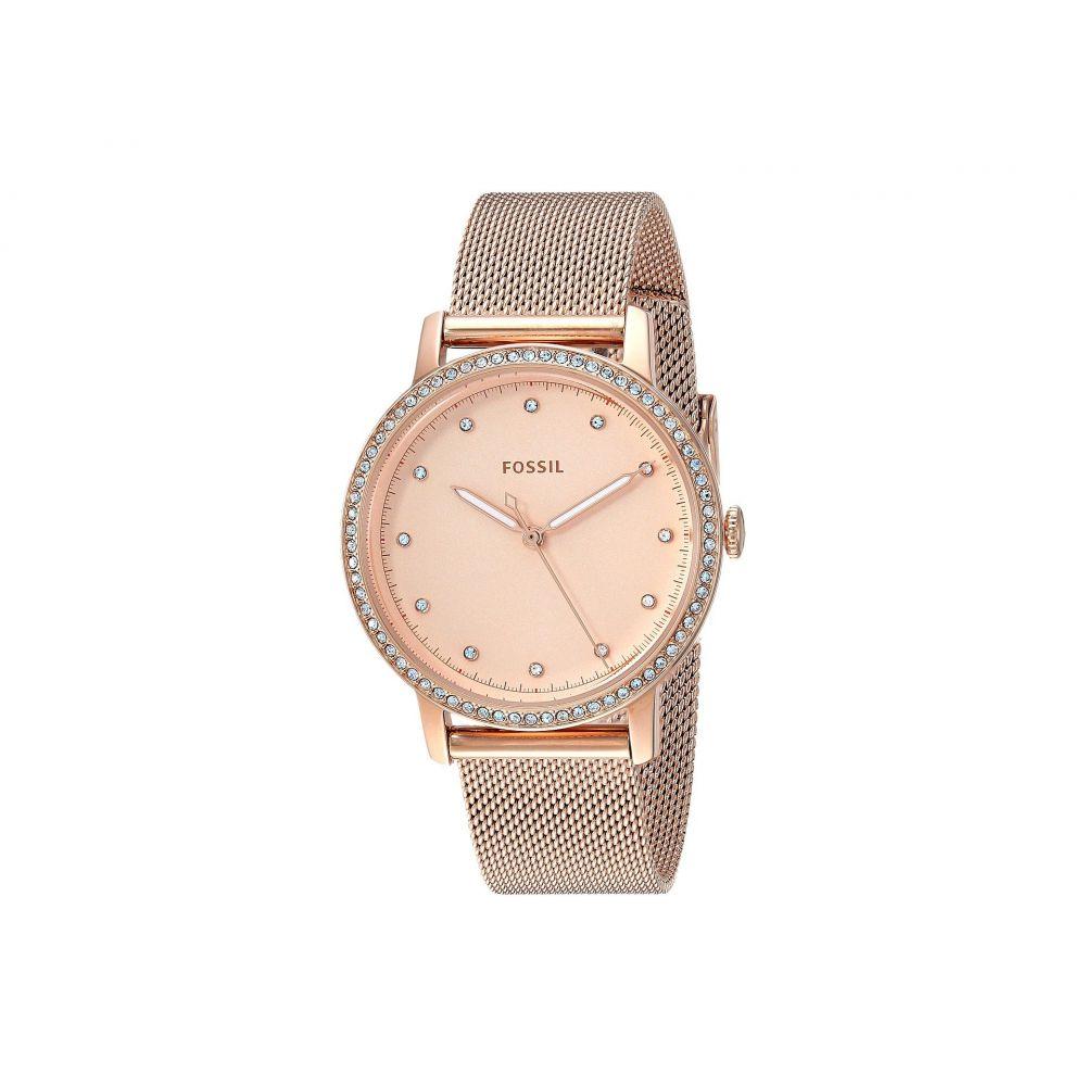 フォッシル Fossil レディース 腕時計【Neely - ES4365】Rose Gold