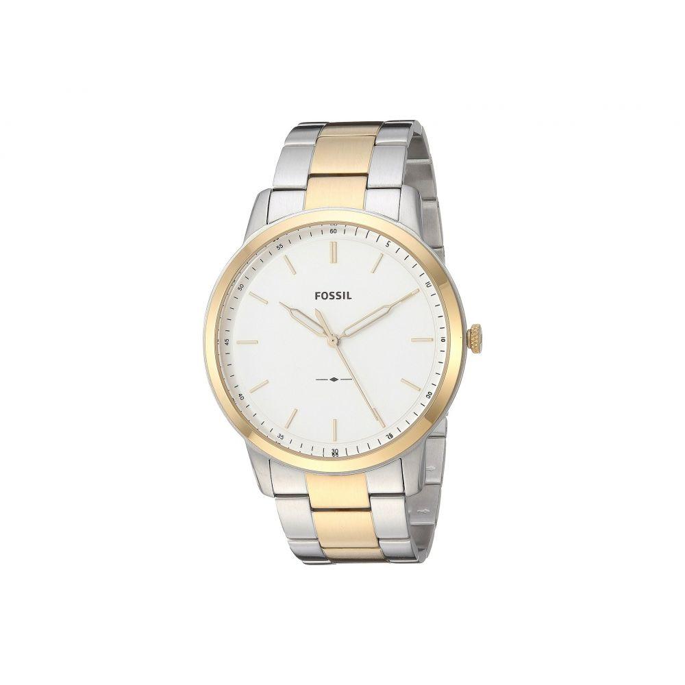 フォッシル Fossil メンズ 腕時計【The Minimalist - FS5441】Silver/Gold