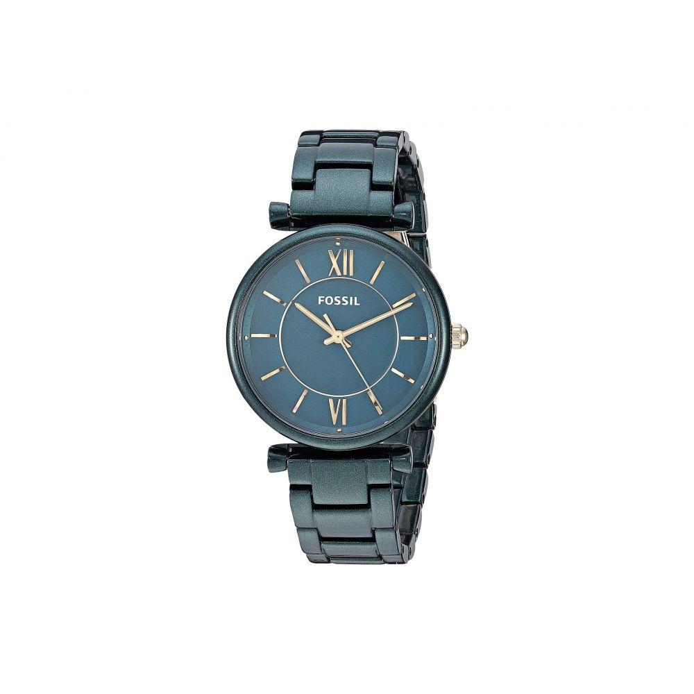 フォッシル Fossil レディース 腕時計【Carlie - ES4427】Green