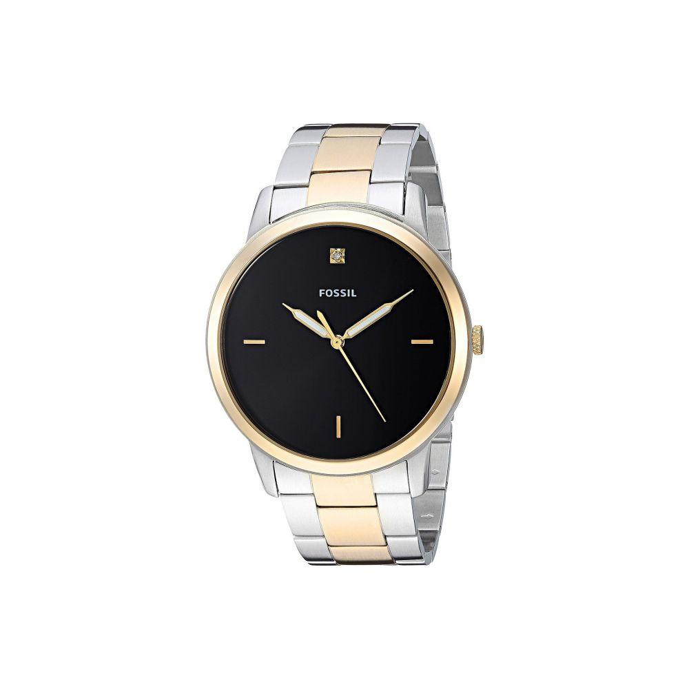 フォッシル Fossil メンズ 腕時計【The Minimalist 3H - FS5458】Gold/Silver