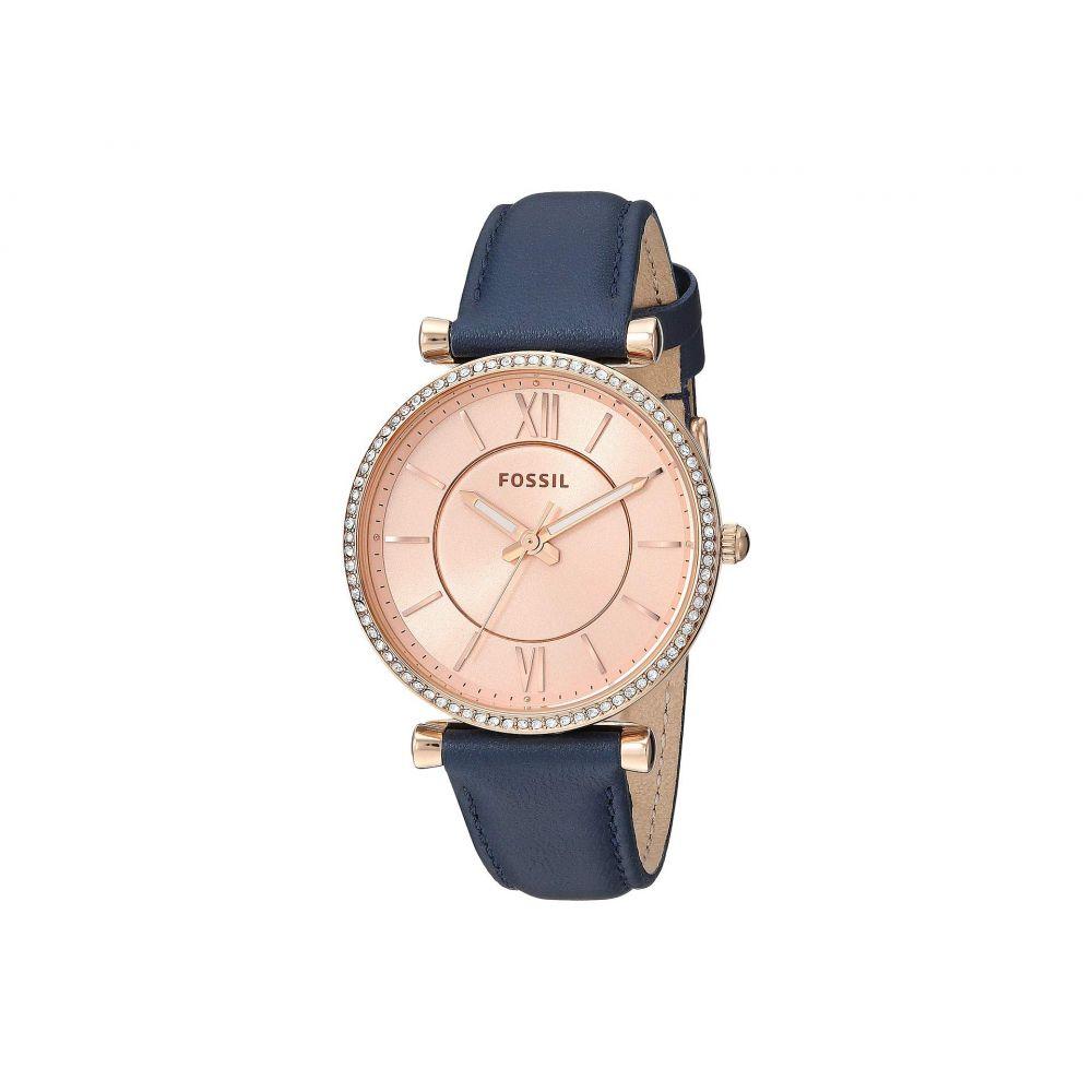 フォッシル Fossil レディース 腕時計【Carlie - ES4485】Blue