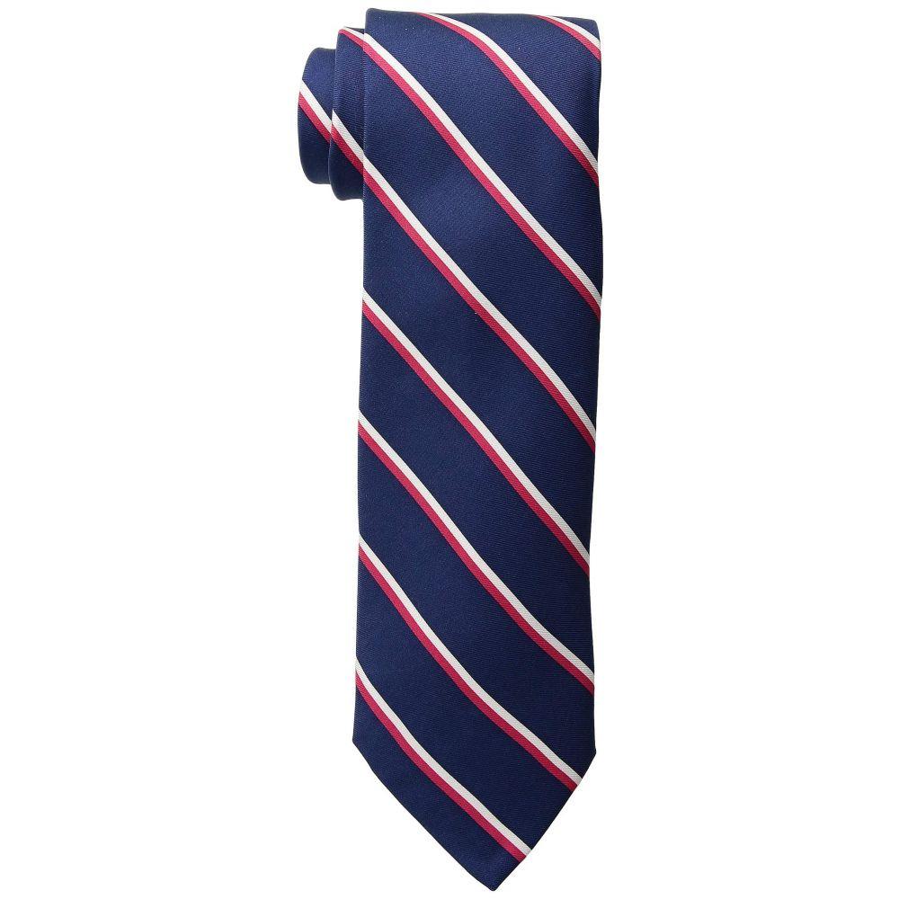 ヴィニヤードヴァインズ Vineyard Vines メンズ ネクタイ【Collegiate Stripe Tie】Vineyard Navy