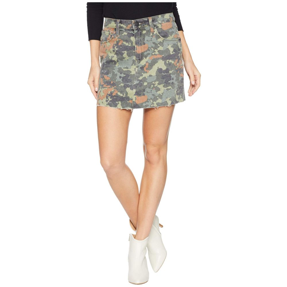 ハドソン Hudson レディース スカート ミニスカート【The Viper Mini Skirt in German Camo】German Camo