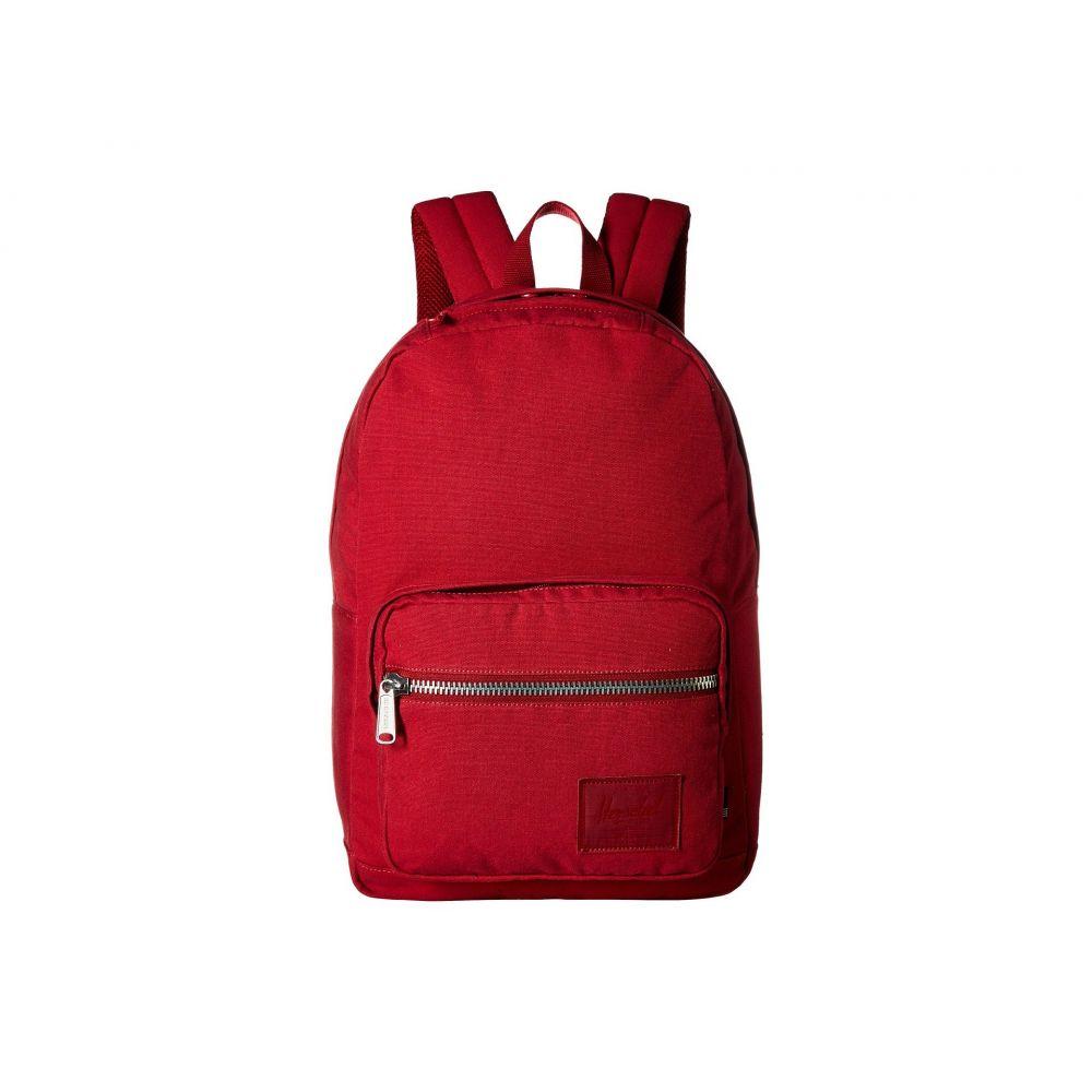 ハーシェル サプライ Herschel Supply Co. レディース バッグ バックパック・リュック【Pop Quiz】Brick Red