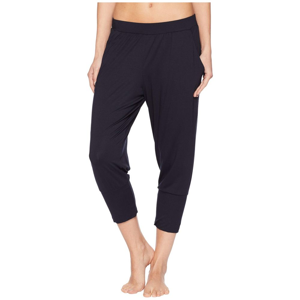 ハンロ Hanro レディース インナー・下着 パジャマ・ボトムのみ【Yoga Crop Pants】Black
