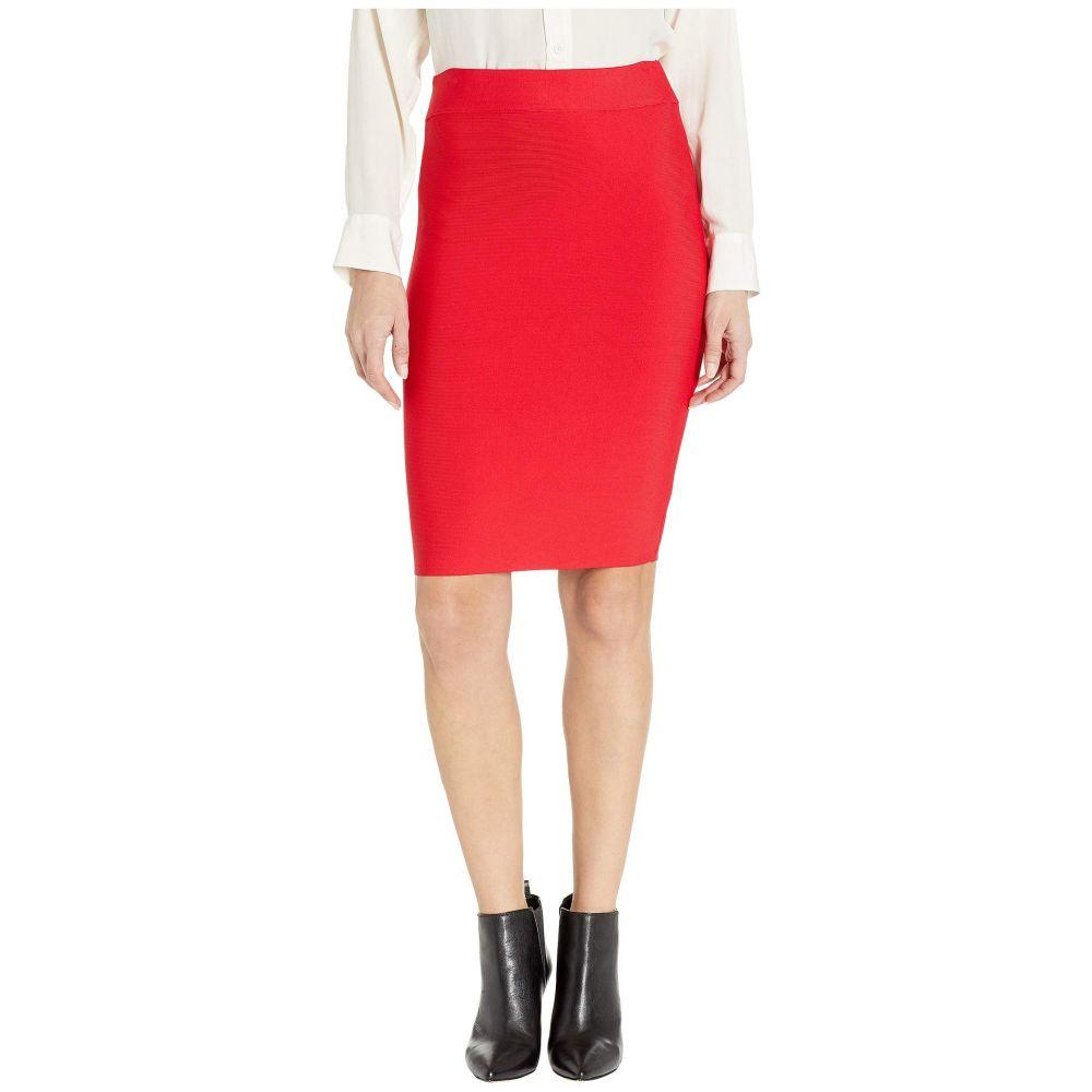 ビーシービージーマックスアズリア BCBGMAXAZRIA レディース スカート ひざ丈スカート【Nathalia Sweater Pencil Skirt】Red Berry