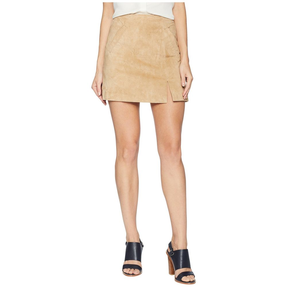 ブランクニューヨーク Blank NYC レディース スカート ミニスカート【Suede Mini Skirt with Side Slit in Venice Beach】Venice Beach