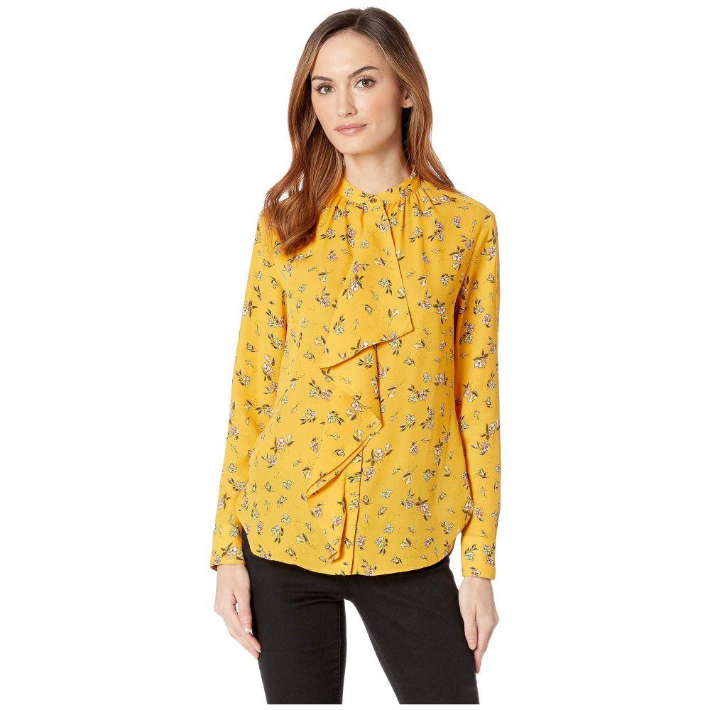 ラルフ ローレン LAUREN Ralph Lauren レディース トップス ブラウス・シャツ【Floral Georgette Top】Gold Multi