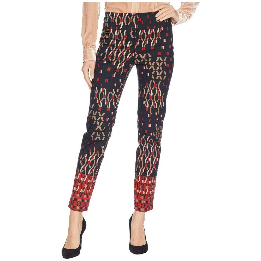 リゼッタ Lisette L Montreal レディース ボトムス・パンツ クロップド【Xox Border Print Ankle Pants】Brick Red