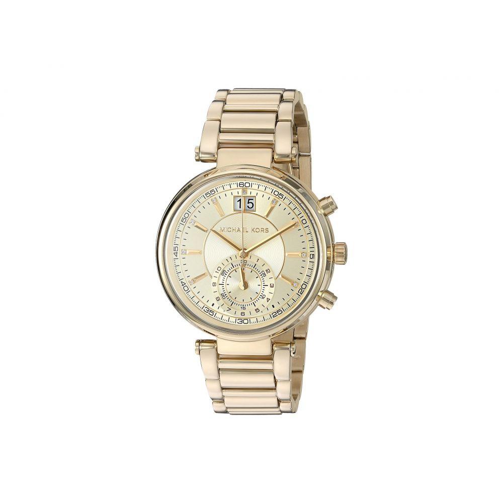 マイケル コース Michael Kors レディース 腕時計【MK6362 - Sawyer】Gold