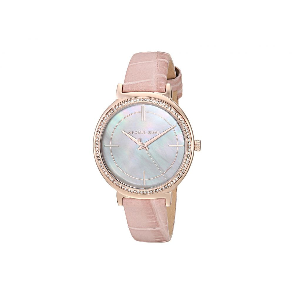 マイケル コース Michael Kors レディース 腕時計【MK2663 - Cinthia】White/Mother-of-Pearl