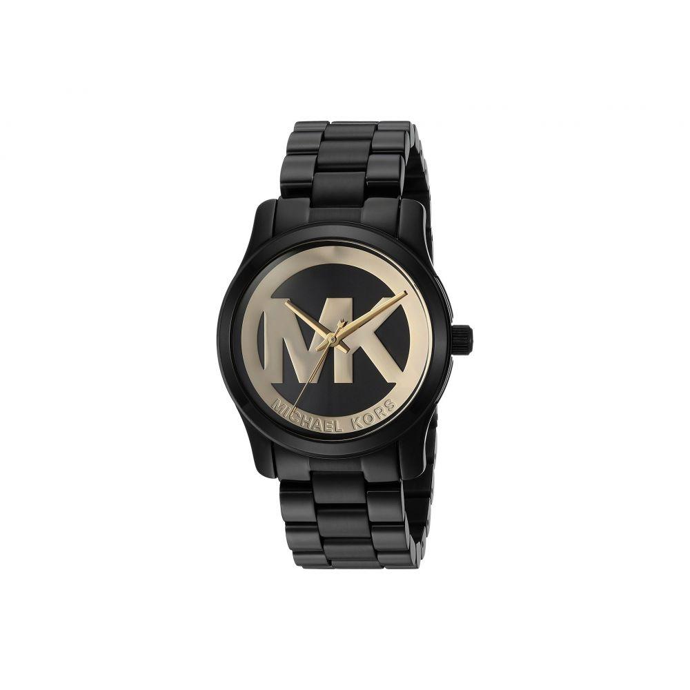 マイケル コース Michael Kors レディース 腕時計【MK6057 - Runway】Gold/Black
