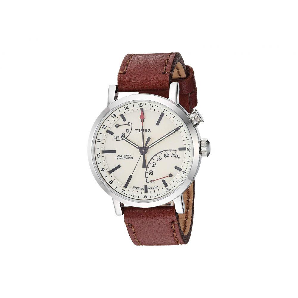 タイメックス Timex メンズ 腕時計【Style Elevated Classic Technology】Cream/Brown
