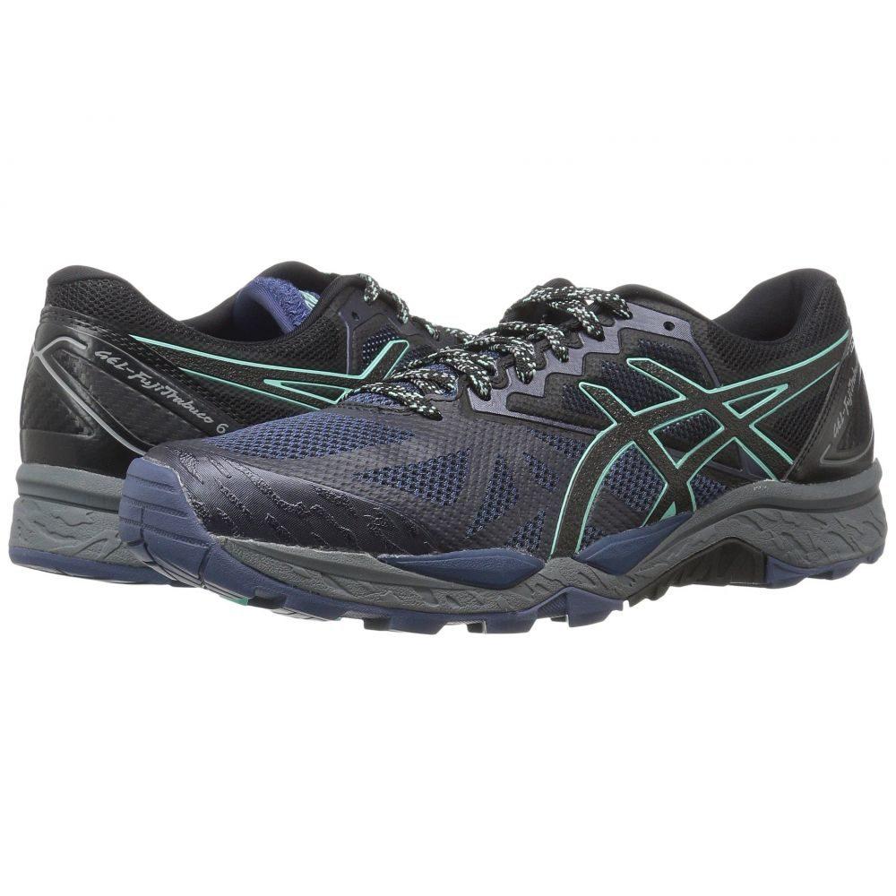 アシックス ASICS レディース ランニング・ウォーキング シューズ・靴【GEL-Fujitrabuco 6】Insignia Blue/Black/Ice Green
