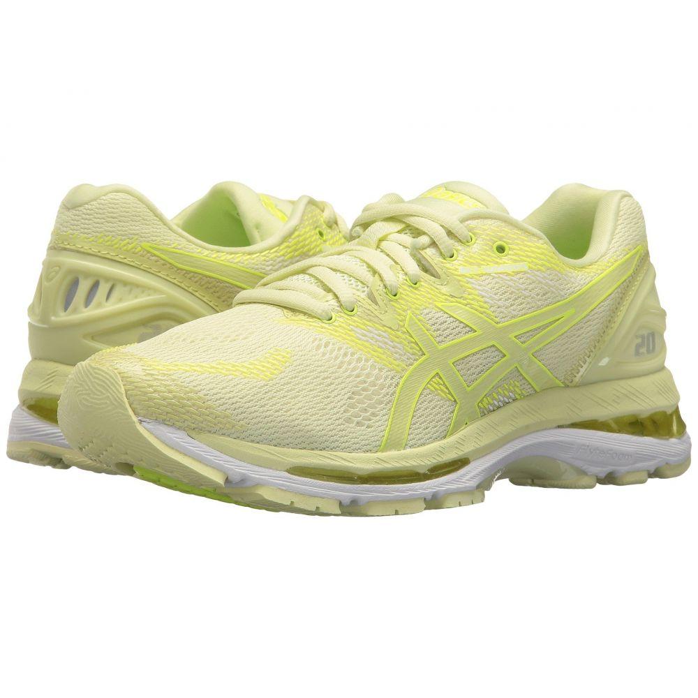 アシックス ASICS レディース ランニング・ウォーキング シューズ・靴【GEL-Nimbus 20】Limelight/Limelight/Safety Yellow