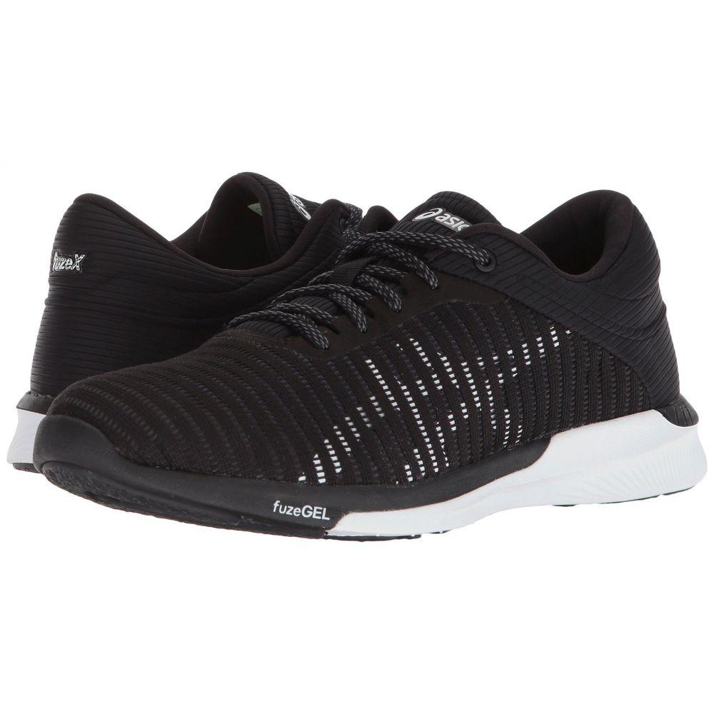 アシックス ASICS レディース ランニング・ウォーキング シューズ・靴【fuzeX Rush Adapt】Black/White/Dark Grey