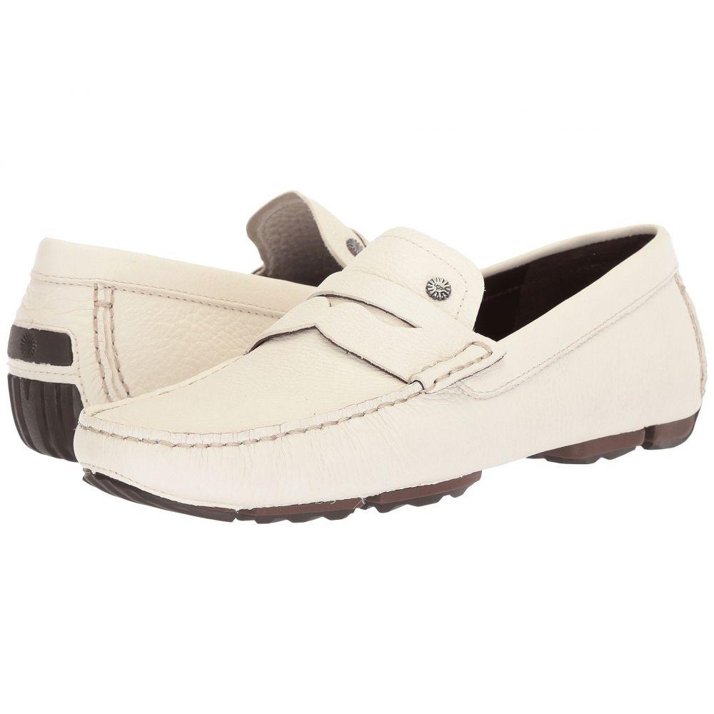 アグ UGG メンズ シューズ・靴 スリッポン・フラット【Bel-Air Penny Slip-On】White