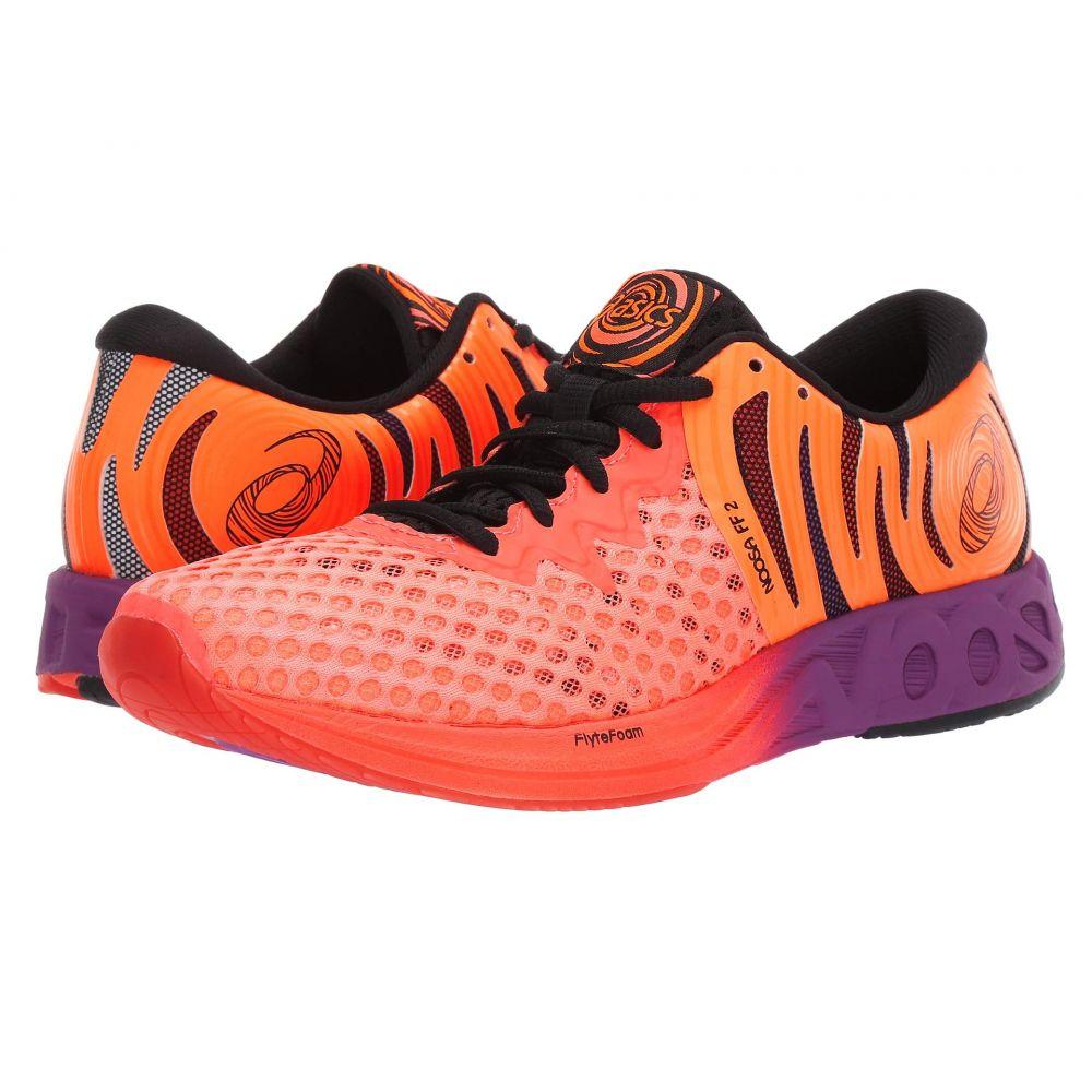 アシックス ASICS レディース ランニング・ウォーキング シューズ・靴【Noosa FF 2】Coral/Black/Orange