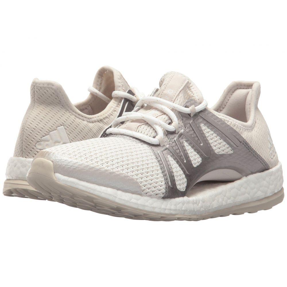 アディダス adidas Running レディース ランニング・ウォーキング シューズ・靴【PureBOOST Xpose】Crystal White/Silver Metallic/Clear Brown