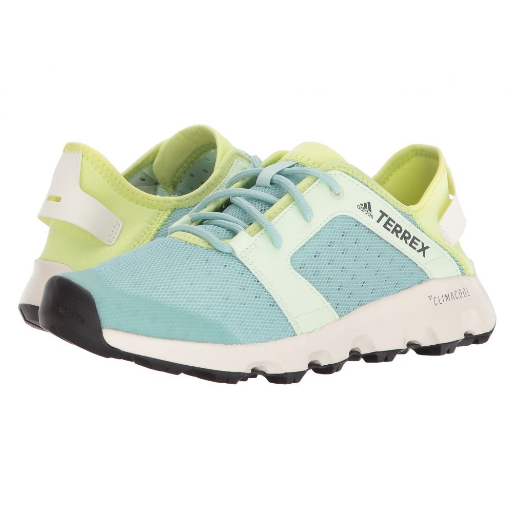 アディダス adidas Outdoor レディース ハイキング・登山 シューズ・靴【Terrex CC Voyager Sleek】Ash Green/Aero Green/Semi Frozen Yellow