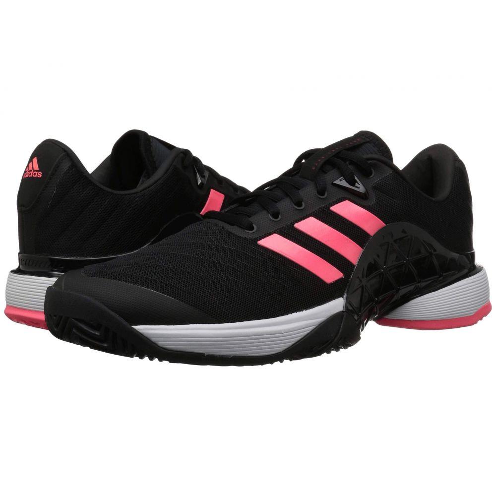 アディダス adidas メンズ テニス シューズ・靴【Barricade 2018】Black/Black/Flash Red