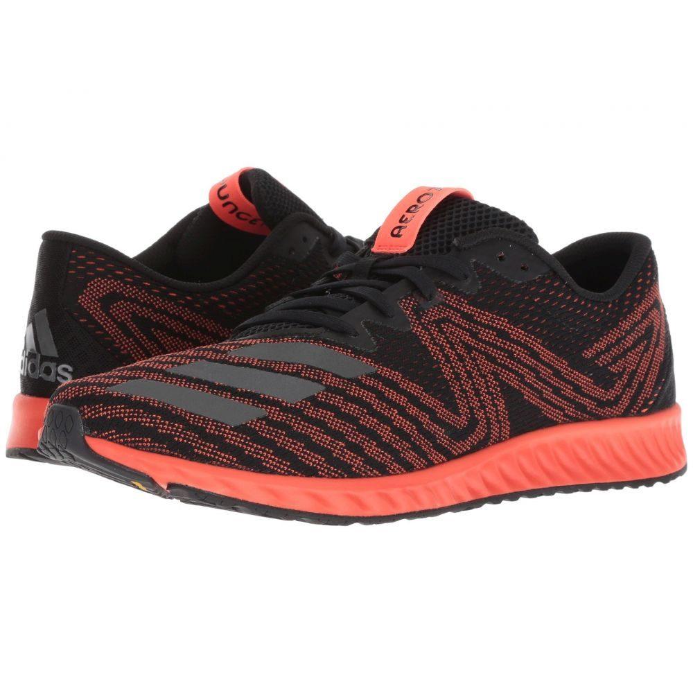 アディダス adidas Running メンズ ランニング・ウォーキング シューズ・靴【Aerobounce PR】Black/Night Metallic F13/Solar Red
