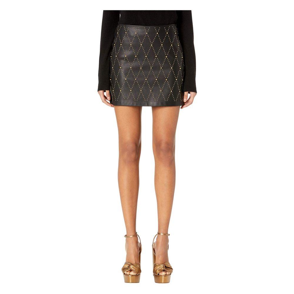 ヴェルサーチ Versace Jeans Couture レディース スカート ミニスカート【Embellished Short Skirt】Nero