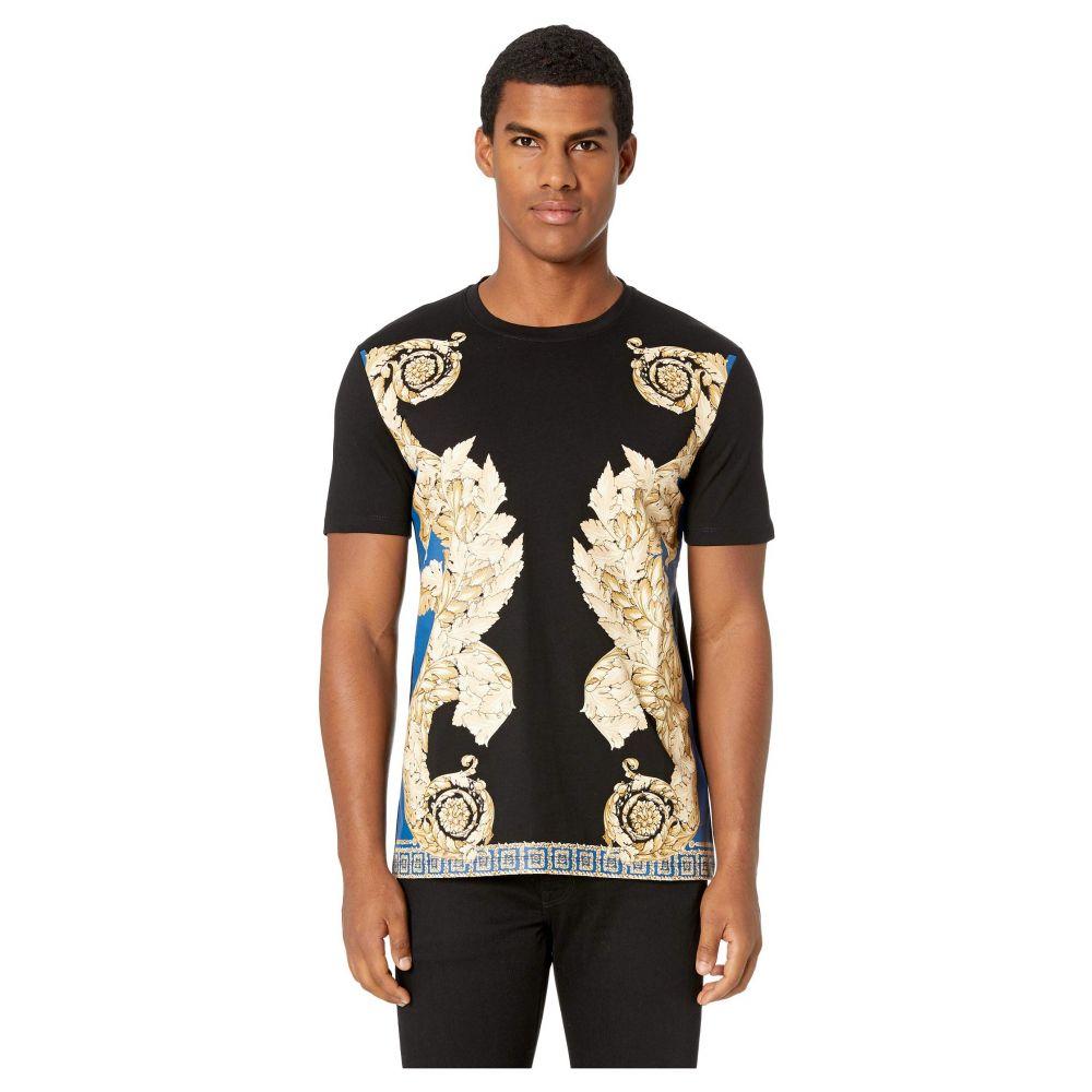 ヴェルサーチ Versace Collection メンズ トップス Tシャツ【Filigree T-Shirt】Blue
