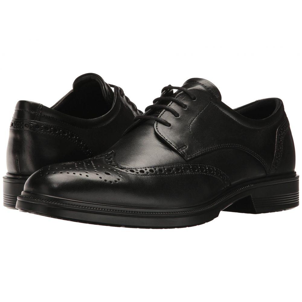 エコー ECCO メンズ シューズ・靴 革靴・ビジネスシューズ【Lisbon Brogue Tie】Black