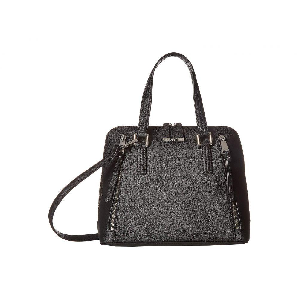 カルバンクライン Calvin Klein レディース バッグ Klein ハンドバッグ Leather【Saffiano Leather Calvin Satchel】Black/Silver, Zeal Market:52df6793 --- sunward.msk.ru