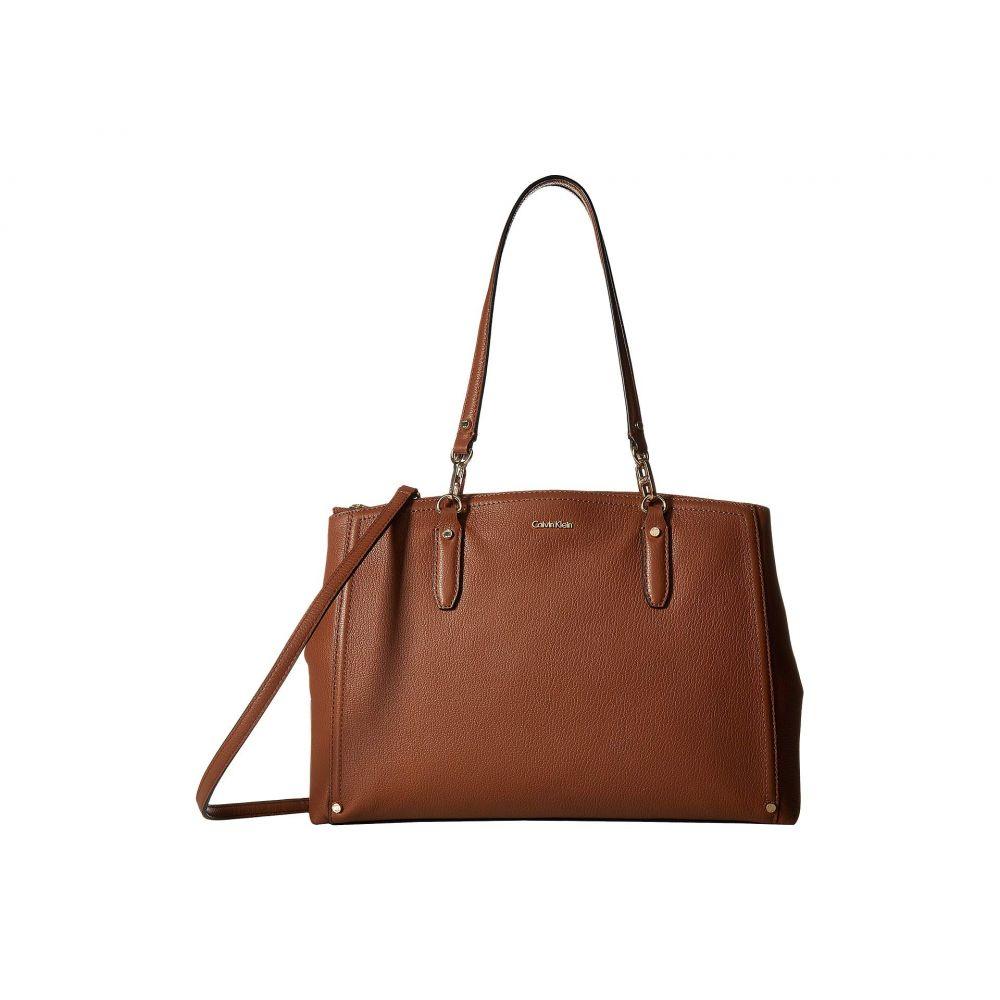 カルバンクライン Calvin Klein レディース Calvin レディース バッグ ハンドバッグ【Goat Leather Klein Satchel】Luggage, イチノミヤシ:48c4fdee --- sunward.msk.ru