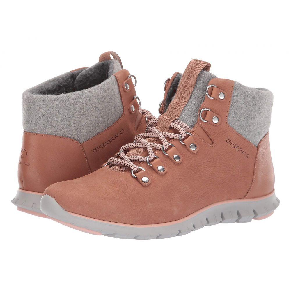 コールハーン Cole Haan レディース ハイキング・登山 シューズ・靴【Zerogrand Hiker Boot】Mocha Mousse Waterproof Nubuck