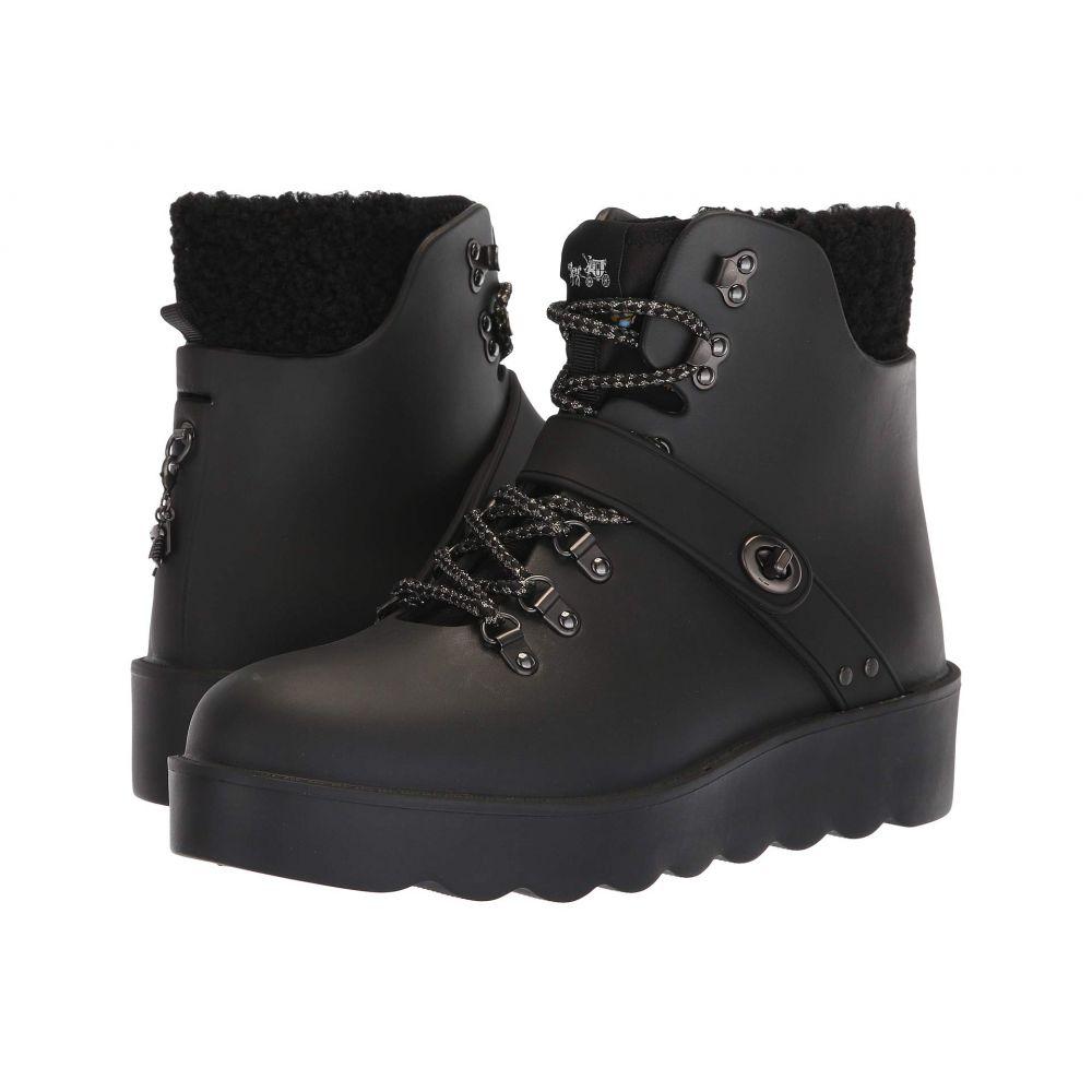 コーチ COACH レディース ハイキング・登山 シューズ・靴【Urban Hiker Rain Boot】Black Rubber