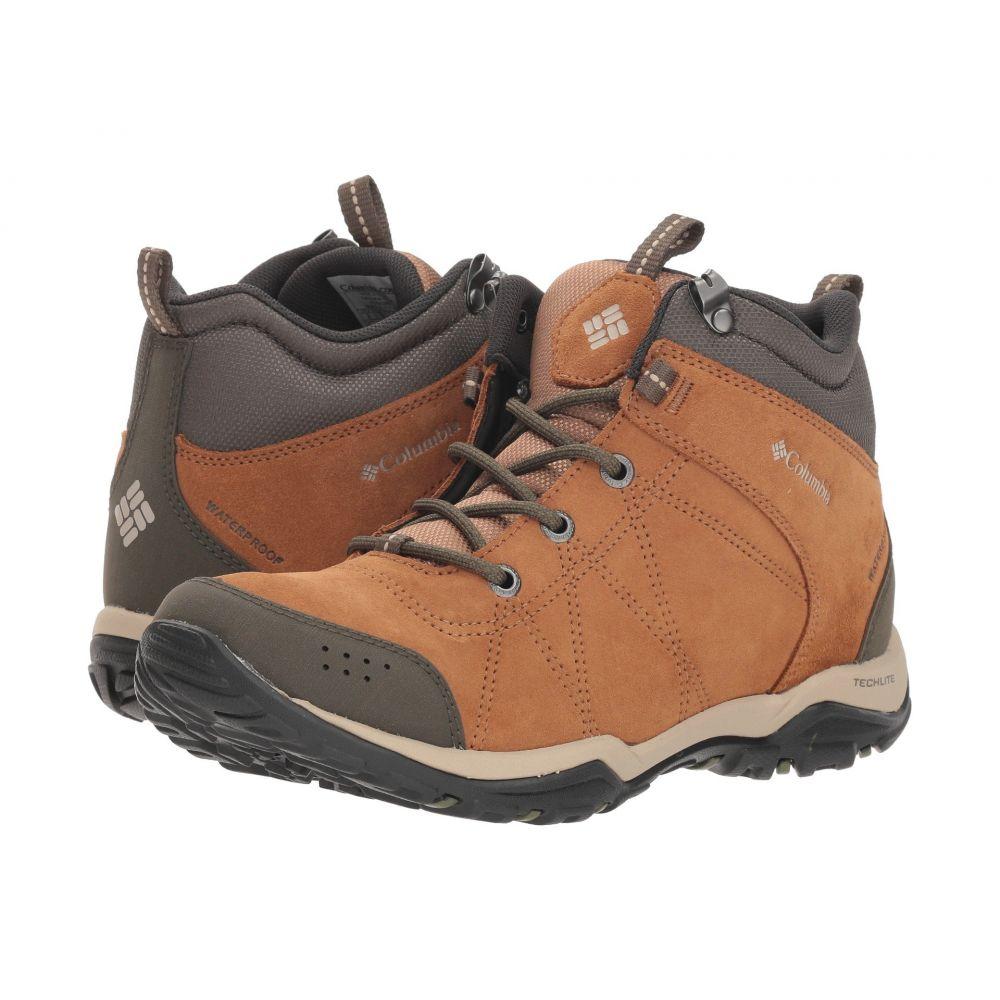 コロンビア Columbia レディース ハイキング・登山 シューズ・靴【Fire Venture Mid Waterproof】Elk/Ancient Fossil
