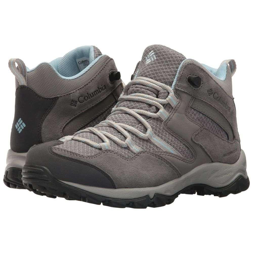 コロンビア Columbia レディース ハイキング・登山 シューズ・靴【Maiden Peak Mid Waterproof】Stratus/Oxygen
