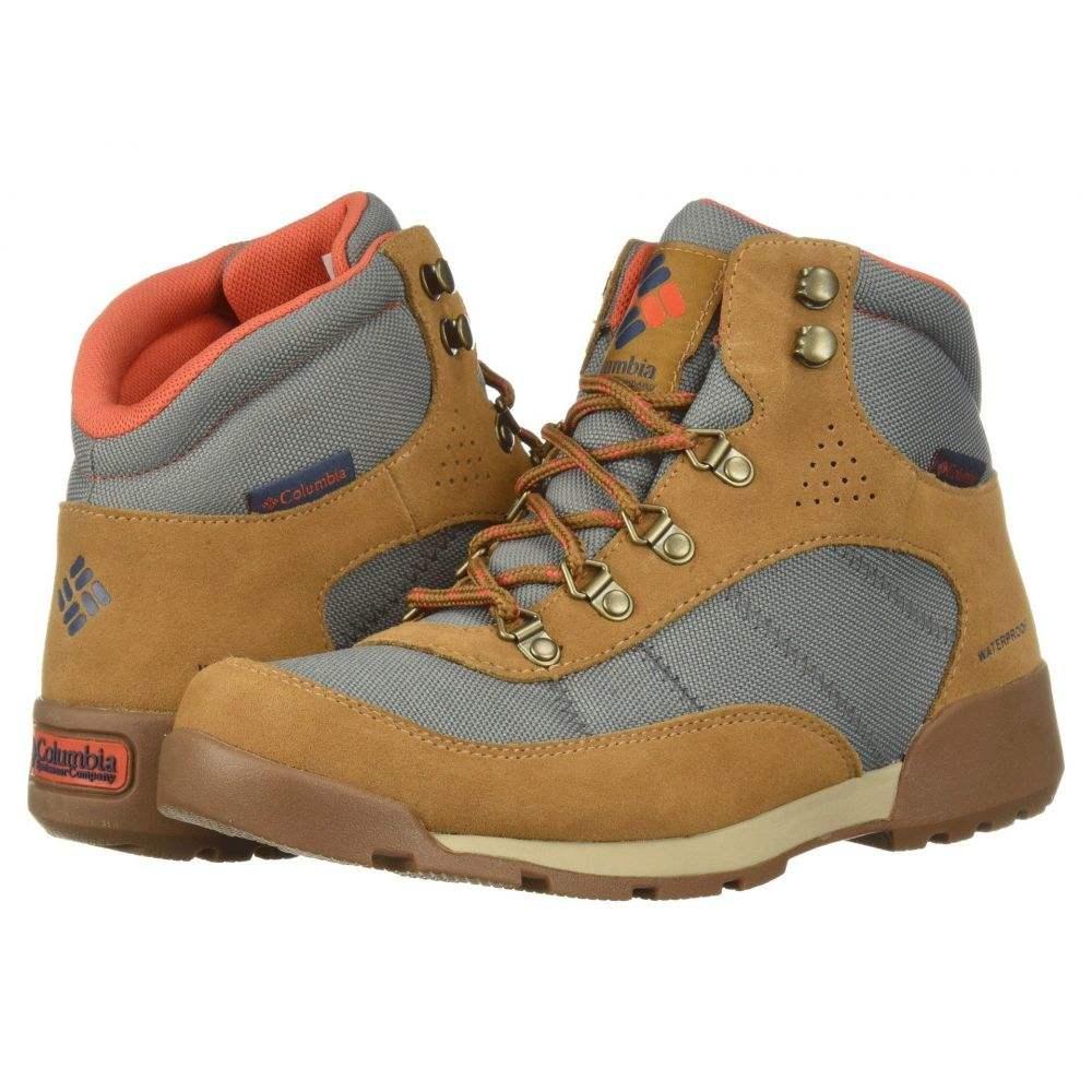コロンビア Columbia レディース ハイキング・登山 シューズ・靴【Endicott Classic Mid WP】TI Grey Steel/Red Canyon