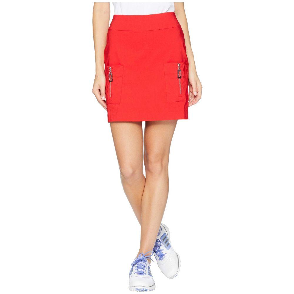 ジェイミー サドック Jamie Sadock レディース スカート ミニスカート【Skinnylicious Slimming Pull-On Skort】Joy Ride Red